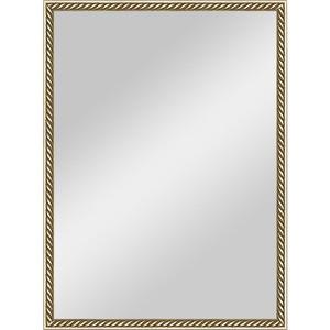 Фотография товара зеркало в багетной раме Evoform Definite 58x78 см, витая латунь 26 мм (BY 0651) (571218)