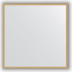 Зеркало в багетной раме Evoform Definite 68x68 см, сосна 22 мм (BY 0652) зеркало в багетной раме evoform definite 58x108 см орех 22 мм by 0723