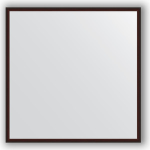 Зеркало в багетной раме Evoform Definite 68x68 см, махагон 22 мм (BY 0655) зеркало в багетной раме evoform definite 58x108 см орех 22 мм by 0723