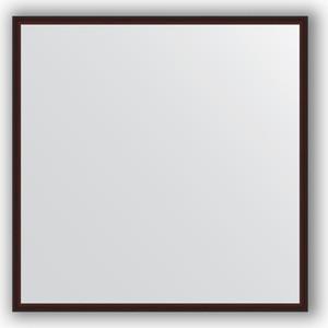 Зеркало в багетной раме Evoform Definite 68x68 см, махагон 22 мм (BY 0655) evoform definite by 1070