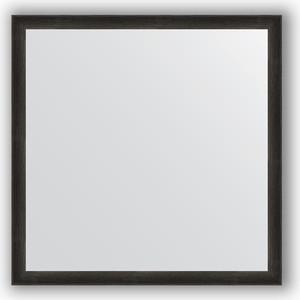 Зеркало в багетной раме Evoform Definite 70x70 см, черный дуб 37 мм (BY 0665)