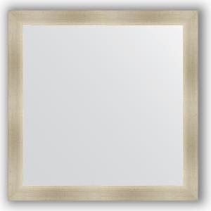 все цены на Зеркало в багетной раме Evoform Definite 74x74 см, травленое серебро 59 мм (BY 0667)