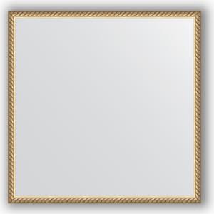 Зеркало в багетной раме Evoform Definite 68x68 см, витая латунь 26 мм (BY 0669) 0669 0 15 01 30 14 10 0[