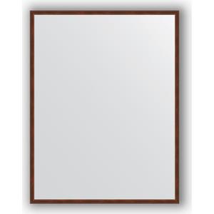 Фото - Зеркало в багетной раме поворотное Evoform Definite 68x88 см, орех 22 мм (BY 0672) зеркало в багетной раме поворотное evoform definite 68x88 см орех 22 мм by 0672