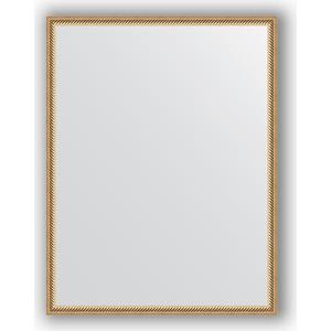 Зеркало в багетной раме поворотное Evoform Definite 68x88 см, витое золото 28 мм (BY 0675) зеркало в багетной раме поворотное evoform definite 58x78 см витое золото 28 мм by 0640