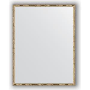 Зеркало в багетной раме поворотное Evoform Definite 67x87 см, серебряный бамбук 24 мм (BY 0677)
