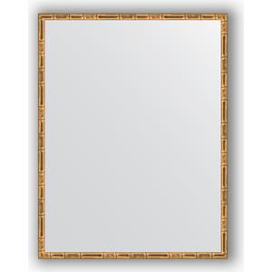 Зеркало в багетной раме поворотное Evoform Definite 67x87 см, золотой бамбук 24 мм (BY 0678) зеркало косметическое touchbeauty as 0678