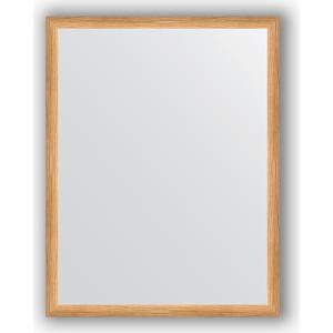 Зеркало в багетной раме поворотное Evoform Definite 70x90 см, клен 37 мм (BY 0681) зеркало с гравировкой evoform florentina 70x90 см by 5003