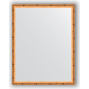 Зеркало в багетной раме поворотное Evoform Definite 70x90 см, красная бронза 37 мм (BY 0682) зеркало с гравировкой evoform florentina 70x90 см by 5003