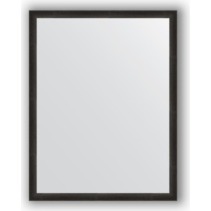 Зеркало в багетной раме поворотное Evoform Definite 70x90 см, черный дуб 37 мм (BY 0683)