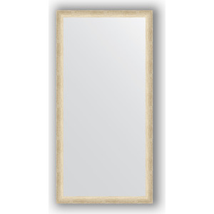 Зеркало в багетной раме поворотное Evoform Definite 50x100 см, состаренное серебро 37 мм (BY 0696) evoform зеркало в багетной раме evoform 52x142 см 6322099 mpmxd6r 6322099