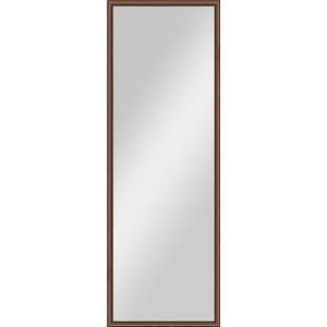 Зеркало в багетной раме поворотное Evoform Definite 48x138 см, орех 22 мм (BY 0706) зеркало в багетной раме evoform definite 58x108 см орех 22 мм by 0723