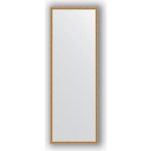 Зеркало в багетной раме поворотное Evoform Definite 48x138 см, витое золото 28 мм (BY 0709) зеркало в багетной раме поворотное evoform definite 48x138 см вишня 22 мм by 0705