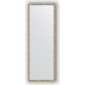 Зеркало в багетной раме поворотное Evoform Definite 47x137 см, серебряный бамбук 24 мм (BY 0711) leran tp 0711