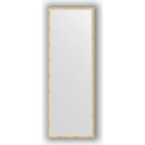 Зеркало в багетной раме поворотное Evoform Definite 50x140 см, состаренное серебро 37 мм (BY 0713) зеркало в багетной раме evoform definite 60x60 см состаренное серебро 37 мм by 0610