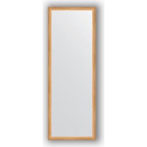 Зеркало в багетной раме поворотное Evoform Definite 50x140 см, клен 37 мм (BY 0715) зеркало в багетной раме evoform definite 60x80 см клен 37 мм by 0646