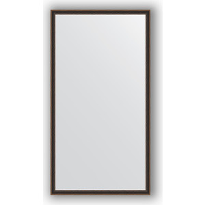 Зеркало в багетной раме поворотное Evoform Definite 58x108 см, витой махагон 28 мм (BY 0727) mantra class 0727