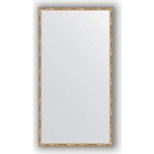 Зеркало в багетной раме поворотное Evoform Definite 57x107 см, серебряный бамбук 24 мм (BY 0728) chkj серебряный 42 мм