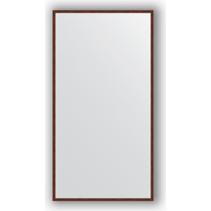 Зеркало в багетной раме поворотное Evoform Definite 68x128 см, орех 22 мм (BY 0740) зеркало в багетной раме evoform definite 58x108 см орех 22 мм by 0723