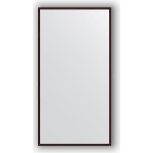 Зеркало в багетной раме Evoform Definite 68x128 см, махагон 22 мм (BY 0741)