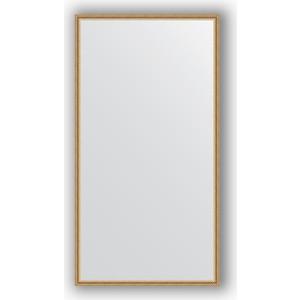 Зеркало в багетной раме поворотное Evoform Definite 68x128 см, витое золото 28 мм (BY 0743) цена