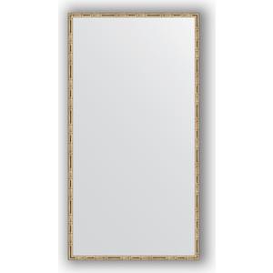 Зеркало в багетной раме поворотное Evoform Definite 67x127 см, серебряный бамбук 24 мм (BY 0745) chkj серебряный 42 мм