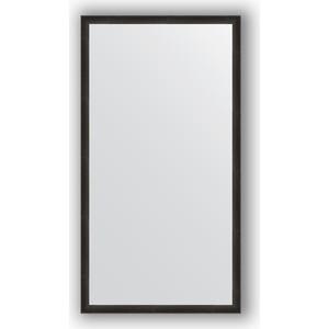 Зеркало в багетной раме поворотное Evoform Definite 70x130 см, черный дуб 37 мм (BY 0751)
