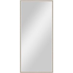 Зеркало в багетной раме поворотное Evoform Definite 68x148 см, витое серебро 28 мм (BY 0759) evoform зеркало в багетной раме evoform 52x142 см 6322099 mpmxd6r 6322099