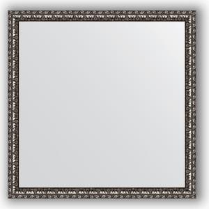 Зеркало в багетной раме Evoform Definite 60x60 см, черненое серебро 38 мм (BY 0773) feizhouying серебро 38 мм