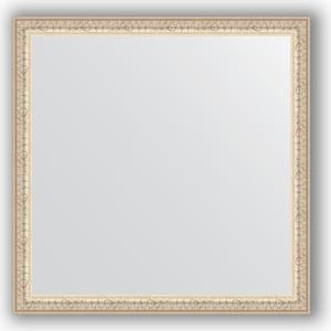 Зеркало в багетной раме Evoform Definite 61x61 см, мельхиор 41 мм (BY 0775) напольная плитка gambarelli splendor ramina 61x61