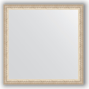 Зеркало в багетной раме Evoform Definite 61x61 см, мельхиор 41 мм (BY 0775) evoform definite by 1070