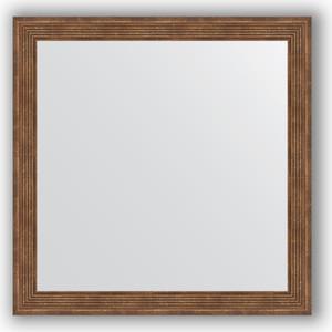 Зеркало в багетной раме Evoform Definite 63x63 см, сухой тростник 51 мм (BY 0779) evoform зеркало в багетной раме evoform 72x92 см 6322067 oy czrbo 6322067