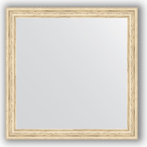 цена на Зеркало в багетной раме Evoform Definite 63x63 см, слоновая кость 51 мм (BY 0780)