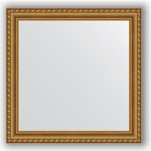 Фото - Зеркало в багетной раме Evoform Definite 64x64 см, золотой акведук 61 мм (BY 0783) боди детский luvable friends 60325 f бирюзовый р 55 61