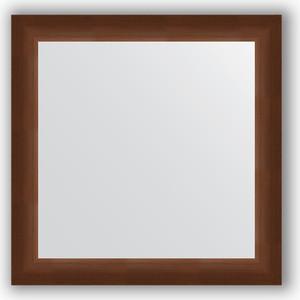 Зеркало в багетной раме Evoform Definite 66x66 см, орех 65 мм (BY 0784) evoform definite by 1070