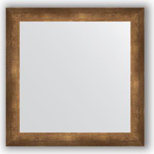 Зеркало в багетной раме Evoform Definite 66x66 см, состаренная бронза 66 мм (BY 0785) зеркало в багетной раме evoform definite 66x66 см сталь 20 мм by 1019