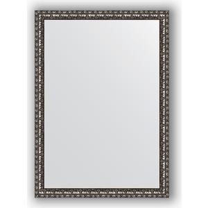 Зеркало в багетной раме поворотное Evoform Definite 50x70 см, черненое серебро 38 мм (BY 0788) feizhouying серебро 38 мм