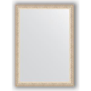 Зеркало в багетной раме поворотное Evoform Definite 51x71 см, мельхиор 41 мм (BY 0790) зеркало в багетной раме поворотное evoform definite 51x71 см волна алюминий 46 мм by 3038