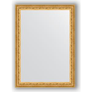 Фото - Зеркало в багетной раме поворотное Evoform Definite 52x72 см, сусальное золото 47 мм (BY 0793) зеркало в багетной раме поворотное evoform definite 52x142 см сусальное золото 47 мм by 1068