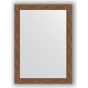 Зеркало в багетной раме поворотное Evoform Definite 53x73 см, сухой тростник 51 мм (BY 0794) зеркало evoform by 3372