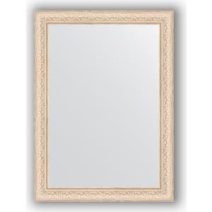 Зеркало в багетной раме поворотное Evoform Definite 54x74 см, беленый дуб 57 мм (BY 0796) зеркало в багетной раме evoform definite 64x64 см беленый дуб 57 мм by 0781