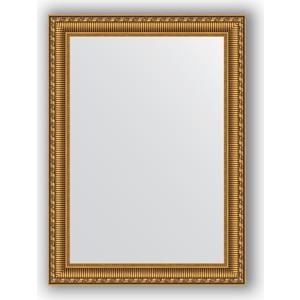 Фото - Зеркало в багетной раме поворотное Evoform Definite 54x74 см, золотой акведук 61 мм (BY 0798) боди детский luvable friends 60325 f бирюзовый р 55 61