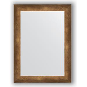 Зеркало в багетной раме поворотное Evoform Definite 56x76 см, состаренная бронза 66 мм (BY 1000) зеркало в багетной раме поворотное evoform definite 56x76 см хром 18 мм by 3161
