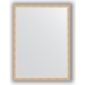 Зеркало в багетной раме поворотное Evoform Definite 61x81 см, мельхиор 41 мм (BY 1005) зеркало в багетной раме поворотное evoform definite 61x81 см мозаика хром 46 мм by 3164