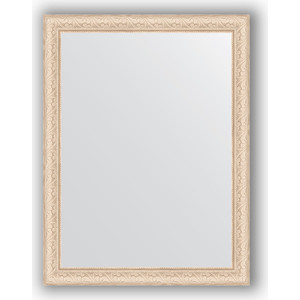 Зеркало в багетной раме поворотное Evoform Definite 64x84 см, беленый дуб 57 мм (BY 1011) зеркало в багетной раме поворотное evoform definite 54x144 см травленое серебро 59 мм by 0718