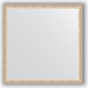 Зеркало в багетной раме Evoform Definite 71x71 см, мельхиор 41 мм (BY 1020) evoform definite by 1070