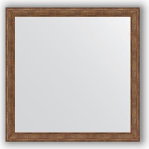 Зеркало в багетной раме Evoform Definite 73x73 см, сухой тростник 51 мм (BY 1024)