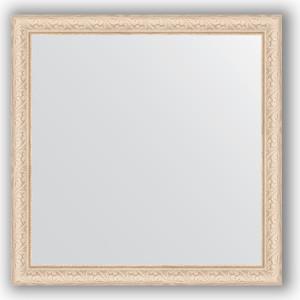 Зеркало в багетной раме Evoform Definite 74x74 см, беленый дуб 57 мм (BY 1026) зеркало в багетной раме поворотное evoform definite 54x74 см беленый дуб 57 мм by 0796
