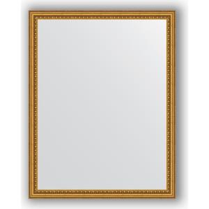 Зеркало в багетной раме поворотное Evoform Definite 72x92 см, бусы золотые 46 мм (BY 1037) зеркало в багетной раме evoform definite 38x48 см бусы золотые 46 мм by 1344