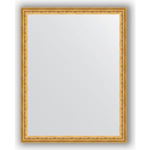 Зеркало в багетной раме поворотное Evoform Definite 72x92 см, сусальное золото 47 мм (BY 1038) evoform зеркало в багетной раме evoform 72x92 см 6322067 oy czrbo 6322067